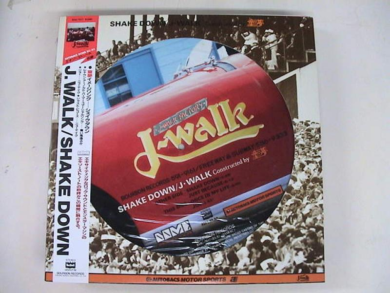 "J-WALK/シェイク・ダウン(ピクチャー盤)のLPレコード通販・販売ならサウンドファインダー"""