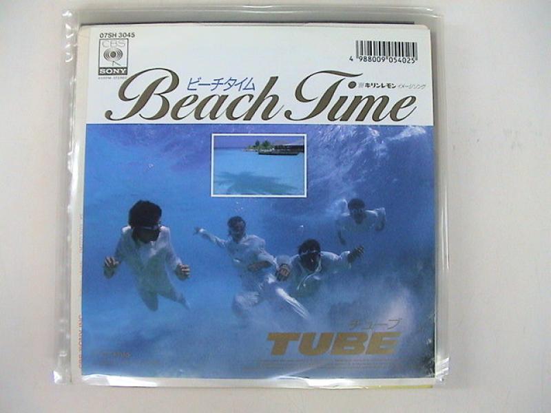 """チューブ/ビーチ・タイムの7インチレコード通販・販売ならサウンドファインダー"""""""