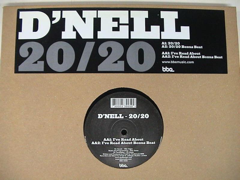 """D'Nell/20/20の12インチレコード通販・販売ならサウンドファインダー"""""""