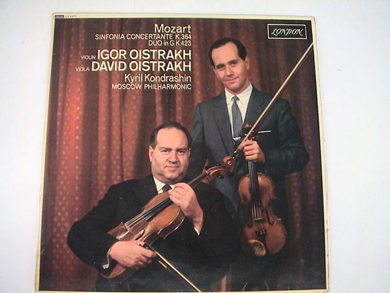 オイストラフ/モーツァルト;協奏交響曲