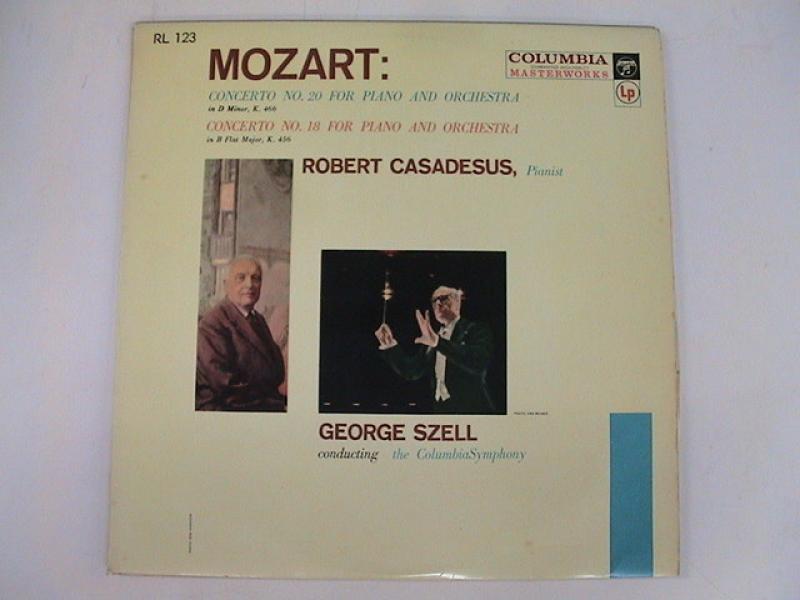 """カザドシュ/モーツァルト;ピアノ協奏曲20・18のLPレコード通販・販売ならサウンドファインダー"""""""