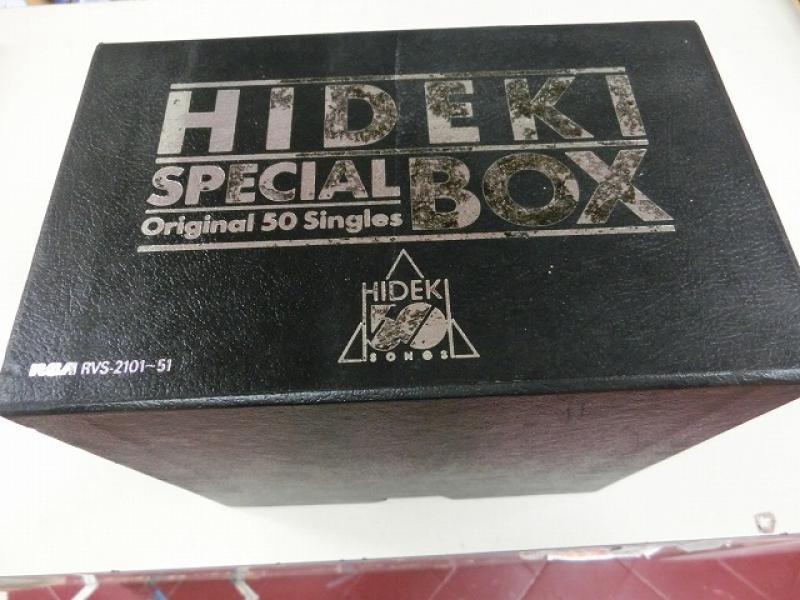 西城秀樹/HIDEKI SPECIAL BOXのボックスセット通販・販売ならサウンドファインダー