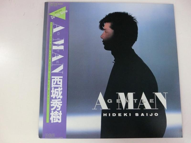 西城秀樹/Gentle A ManのLPレコード通販・販売ならサウンドファインダー