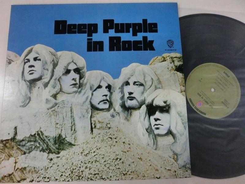 Deep Purple/In RockのLPレコード通販・販売ならサウンドファインダー