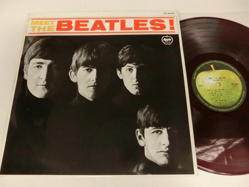 The Beatles/Meet The Beatles !(Red Wax)のLPレコード通販・販売ならサウンドファインダー