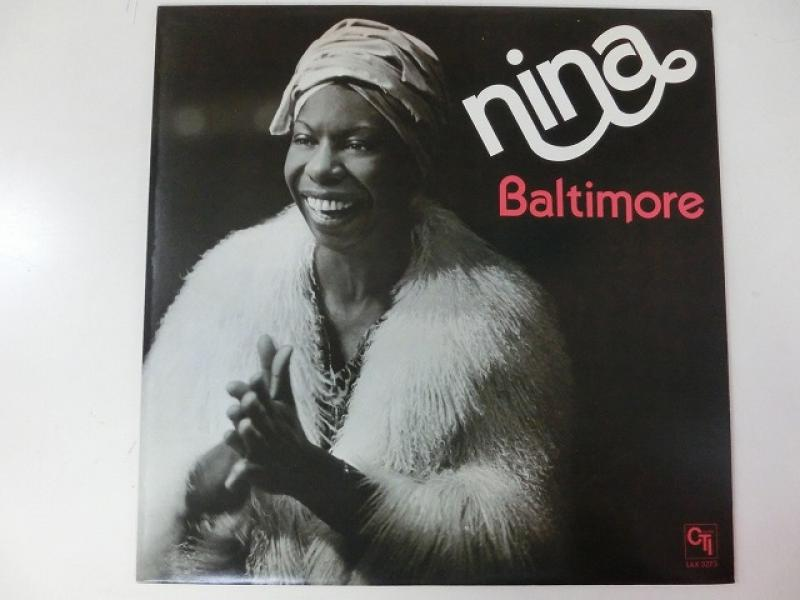 Nina Simone/BaltimoreのLPレコード通販・販売ならサウンドファインダー