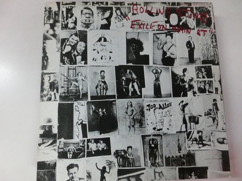 The Rolling Stones/Exile On Main St.  メイン・ストリートのならず者のLPレコード通販・販売ならサウンドファインダー