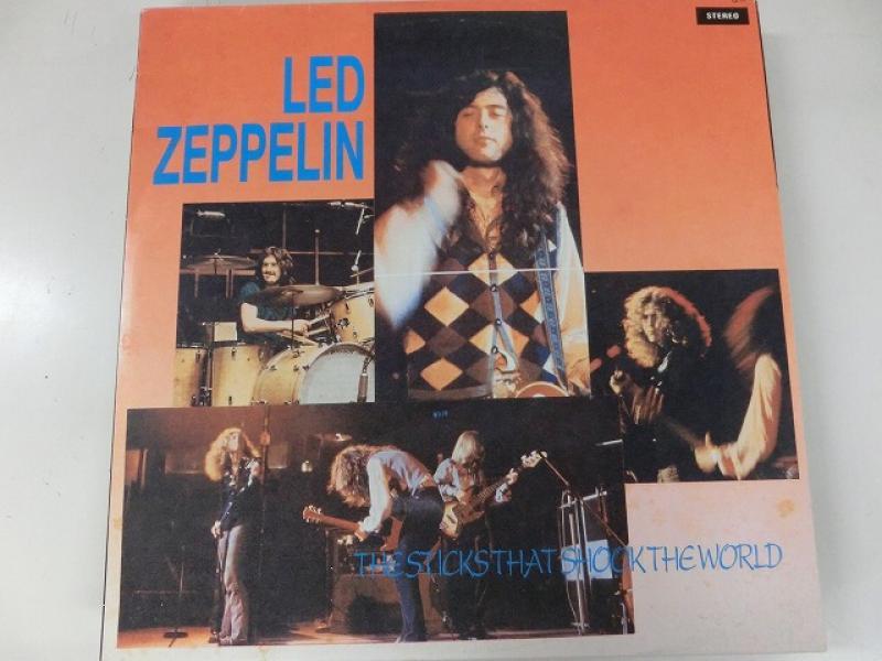 Led Zeppelin/The Sticks That Shook The WorldのLPレコード vinyl LP通販・販売ならサウンドファインダー