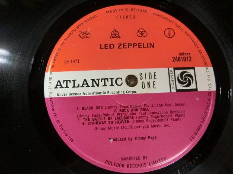 Led Zeppelin/Untitled 4thのLPレコード vinyl LP通販・販売ならサウンドファインダー