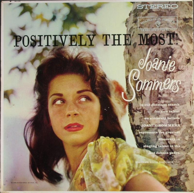 Joanie Sommers Positively The Most レコード通販のサウンドファインダー