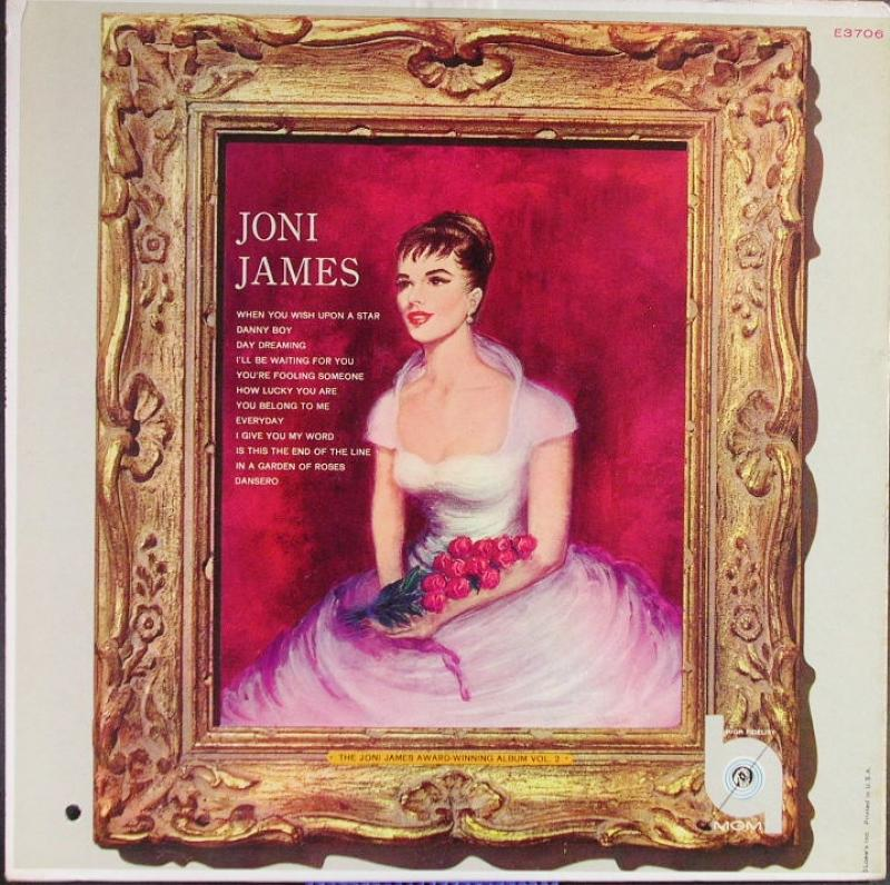 JONI JAMES - Award Winning Album VOL.2 - 33T