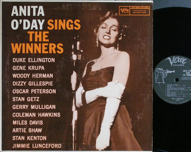 Anita O Day Anita O Day Sings The Winners レコード通販のサウンドファインダー