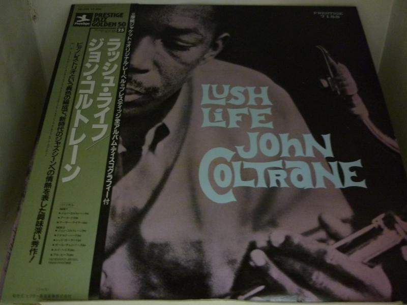 """ジョン・コルトレーン/ラッシュ・ライフのLPレコード通販・販売ならサウンドファインダー"""""""