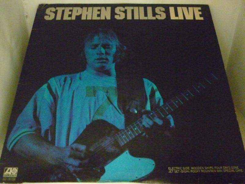 """ステファン・スティルス/LIVEのLPレコード通販・販売ならサウンドファインダー"""""""