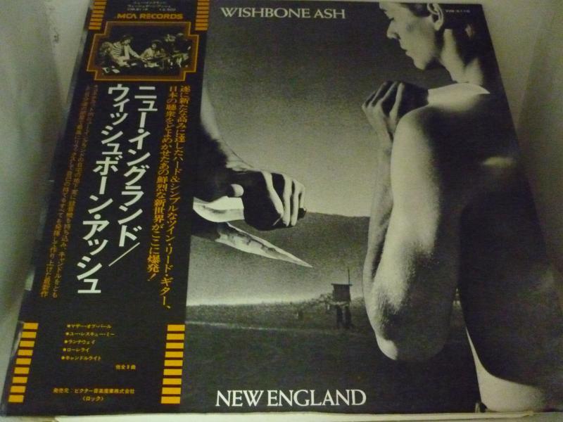 """ウィッシュボーン・アッシュ/ニュー・イングランドのLPレコード通販・販売ならサウンドファインダー"""""""