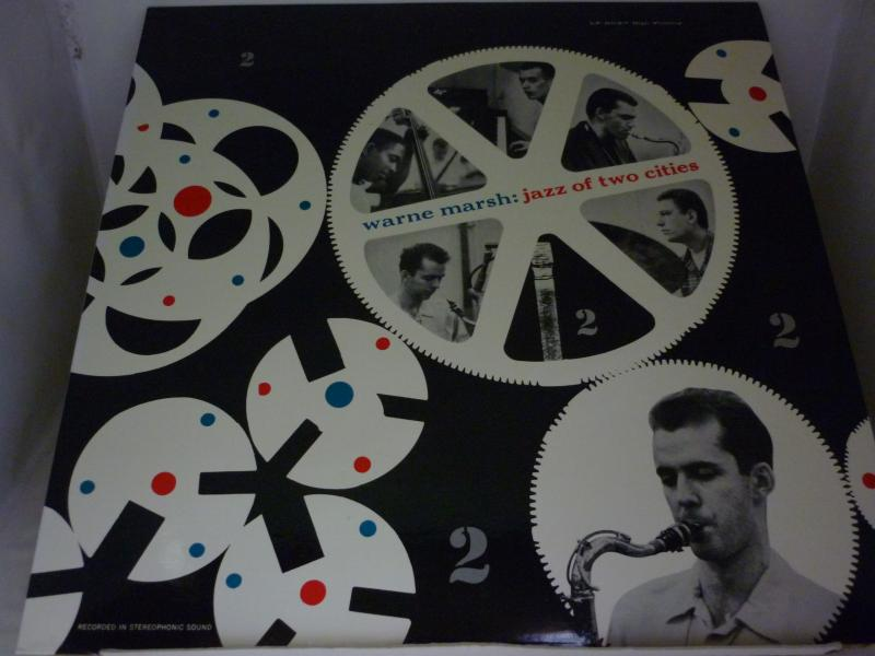 """ウォーン・マーシュ/ジャズ・オブ・トゥ・シティーズのLPレコード通販・販売ならサウンドファインダー"""""""