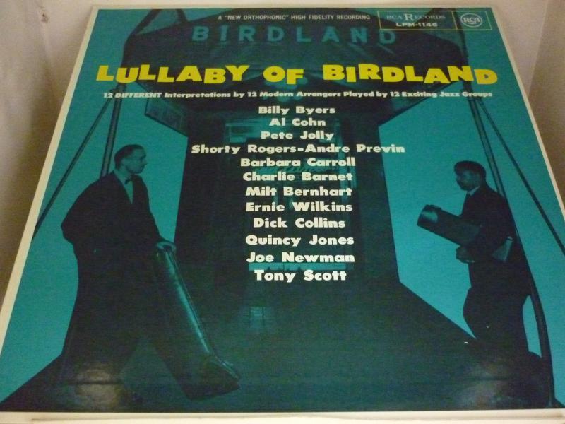 """V.A.(アル・コーン、クインシー・ジョーンズ、他)/バードランドの夜のLPレコード通販・販売ならサウンドファインダー"""""""