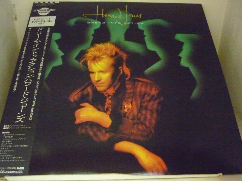 """ハワード・ジョーンズ/ドリーム・イントゥ・アクションのLPレコード通販・販売ならサウンドファインダー"""""""