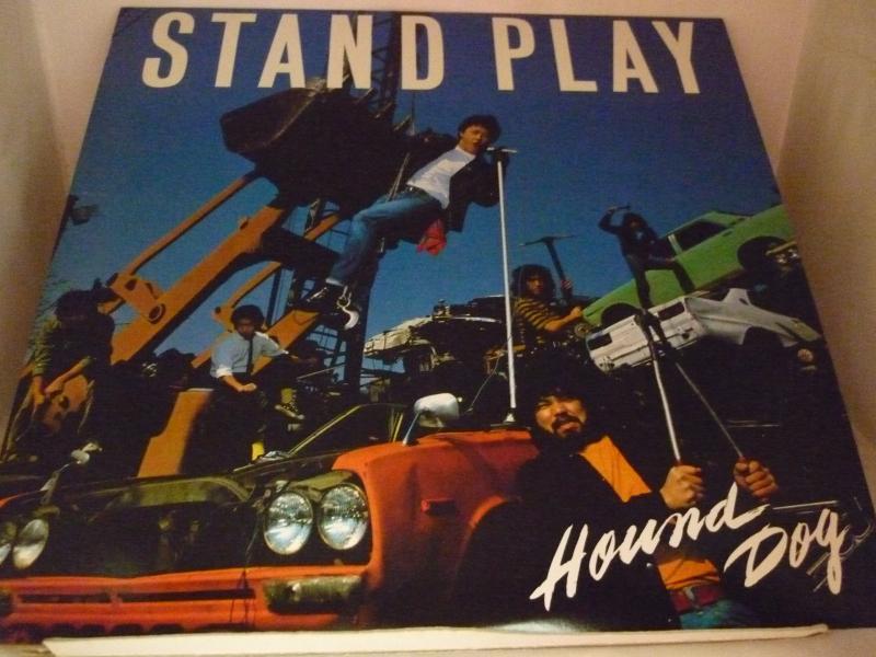 """ハウンドドッグ/スタンド・プレイのLPレコード通販・販売ならサウンドファインダー"""""""