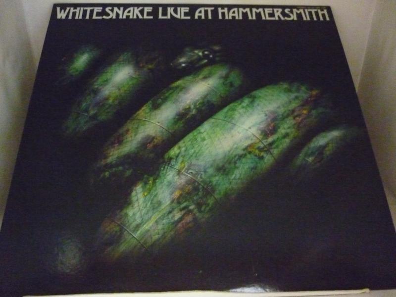 """ホワイトスネイク/ライヴ・アット・ハマースミスのLPレコード通販・販売ならサウンドファインダー"""""""