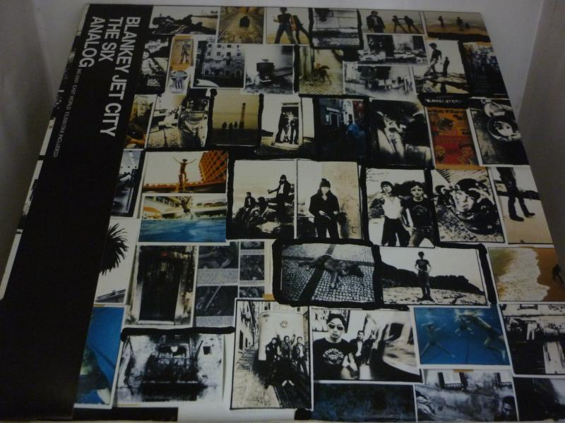 ブランキー・ジェット・シティ/THE SIX ANALOGのLPレコード通販・販売ならサウンドファインダー