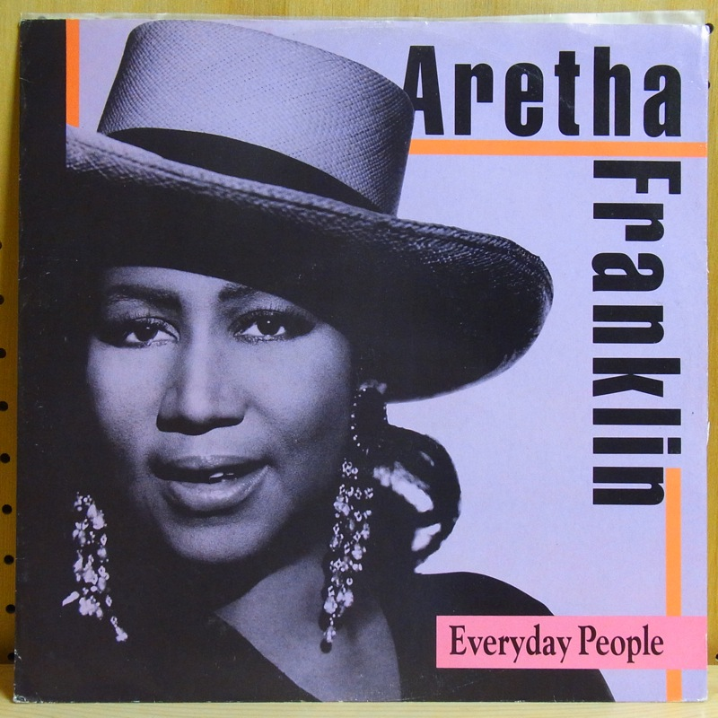 ARETHA FRANKLIN - EVERYDAY PEOPLE - 12 inch 45 rpm