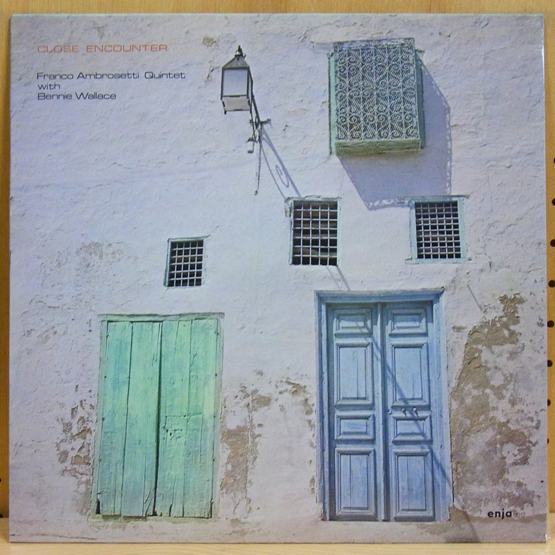 FRANCO AMBROSETTI QUINTET WITH BENNIE WALLACE - CLOSE ENCOUNTER - LP