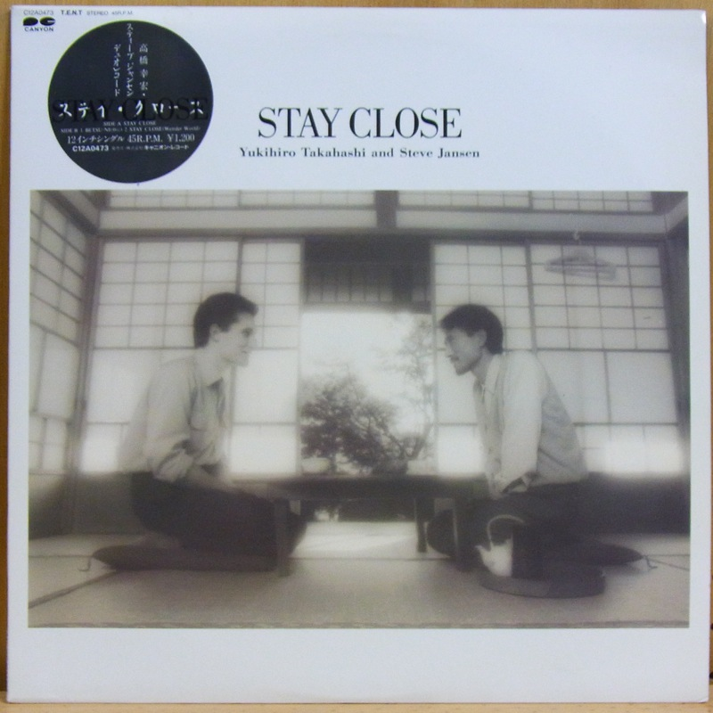 高橋ユキヒロ YUKIHIRO TAKAHASHI AND STEVE JANSEN - STAY CLOSE - LP