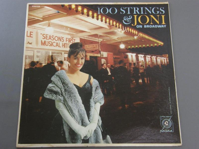 JONI JAMES - 100 STRINGS AND JONI ON BROADWAY - 33T