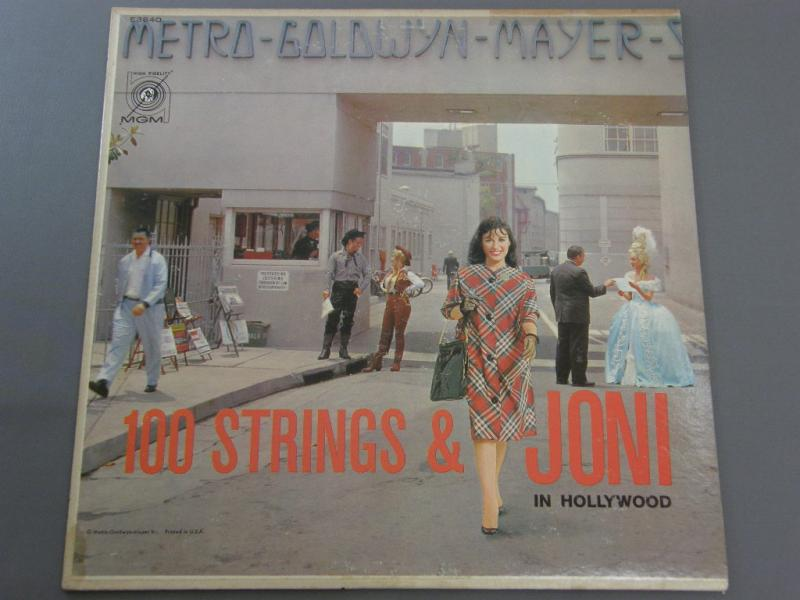 JONI JAMES - 100 STRINGS AND JONI IN HOLLYWOOD - 33T