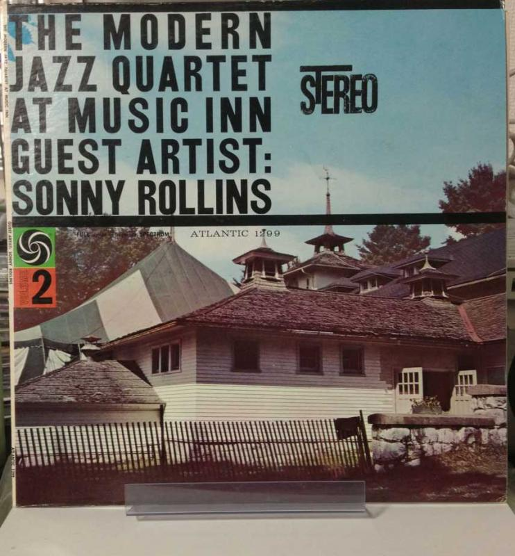 MJQ (MODERN JAZZ QUARTET) - AT MUSIC INN - GUEST ARTIST SONNY ROLLINS - 33T