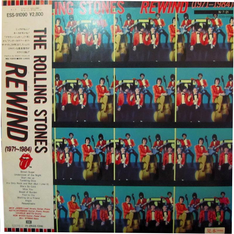 ローリング・ストーンズ リワインド レコード通販のサウンドファインダー