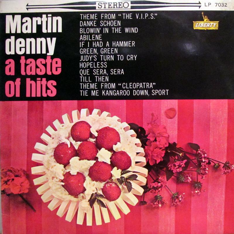 """マーティン・デニー・グループ/ポップ・ヒッツのLPレコード通販・販売ならサウンドファインダー"""""""