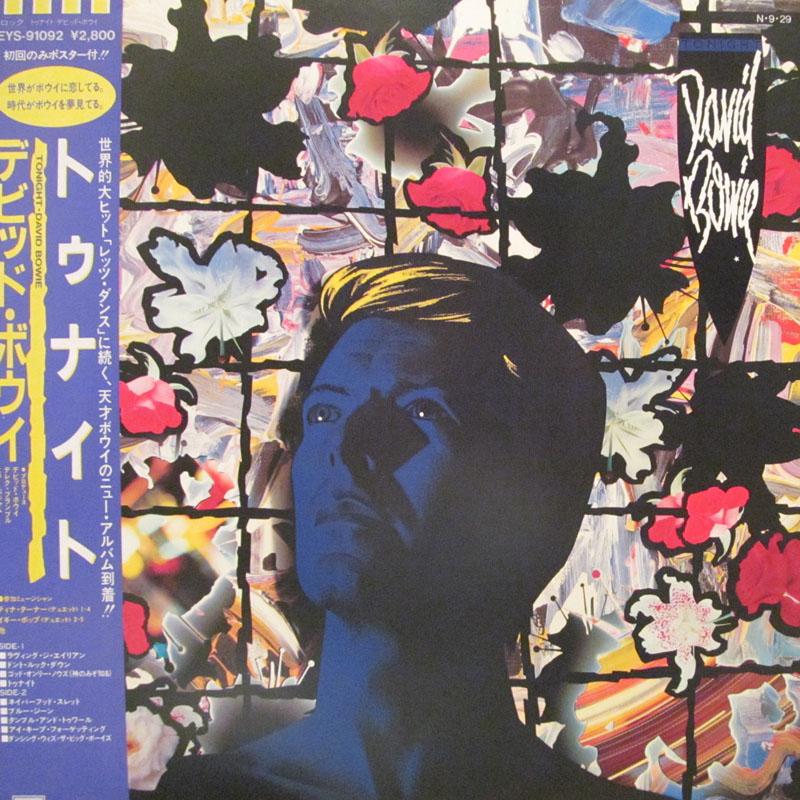 """デビッド・ボウイ/トゥナイトのLPレコード通販・販売ならサウンドファインダー"""""""