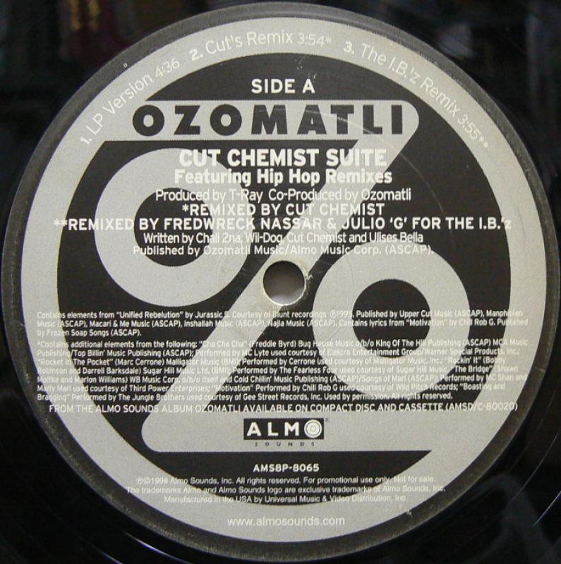 OZOMATLI/CUT