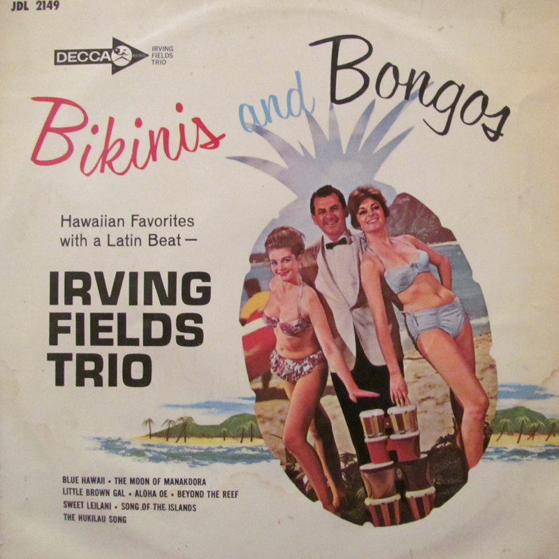 """アービングフィールズトリオ/ビキニとボンゴの10インチレコード通販・販売ならサウンドファインダー"""""""