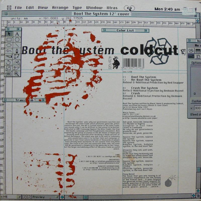 COLDCUT/ATOMIC