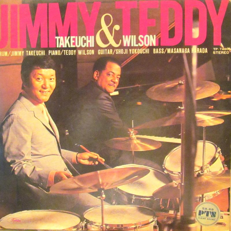 """ジミー竹内&テディ・ウィルソン/S.T.のLPレコード通販・販売ならサウンドファインダー"""""""