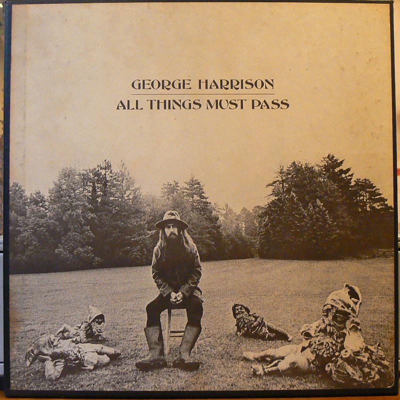 GEORGE HARRISON/ALL THINGS MUST PASSのLPレコード通販・販売ならサウンドファインダー