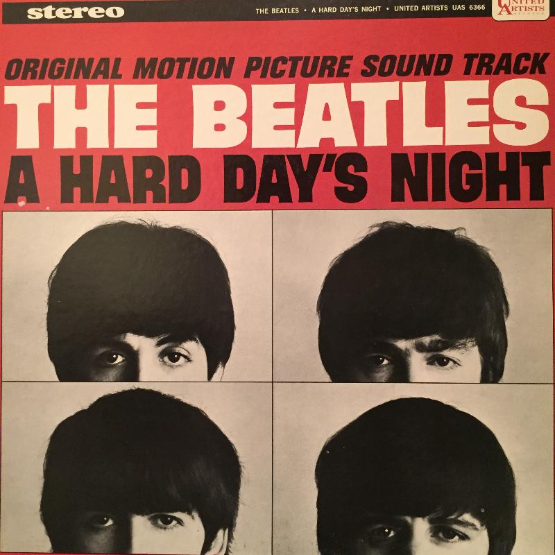 The Beatles /A Hard Day's Night のLPレコード通販・販売ならサウンドファインダー