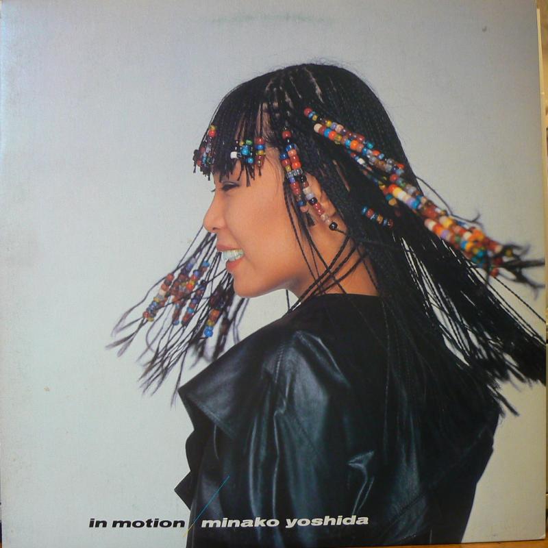 吉田美奈子/IN MOTIONのLPレコード vinyl LP通販・販売ならサウンドファインダー
