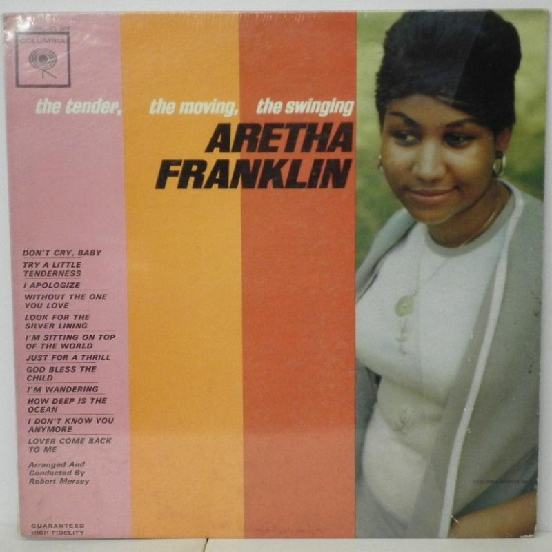 ARETHA FRANKLIN - THE TENDER. THE MOVING. THE SWINGING - LP