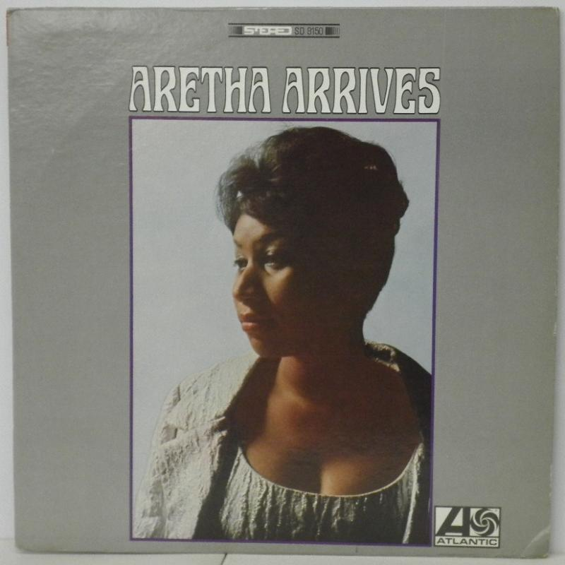 ARETHA FRANKLIN - ARETHA ARRIVES - LP