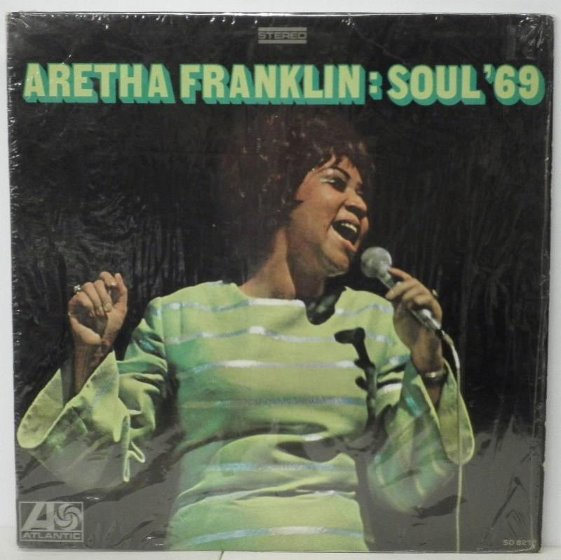 ARETHA FRANKLIN - SOUL'69 - LP