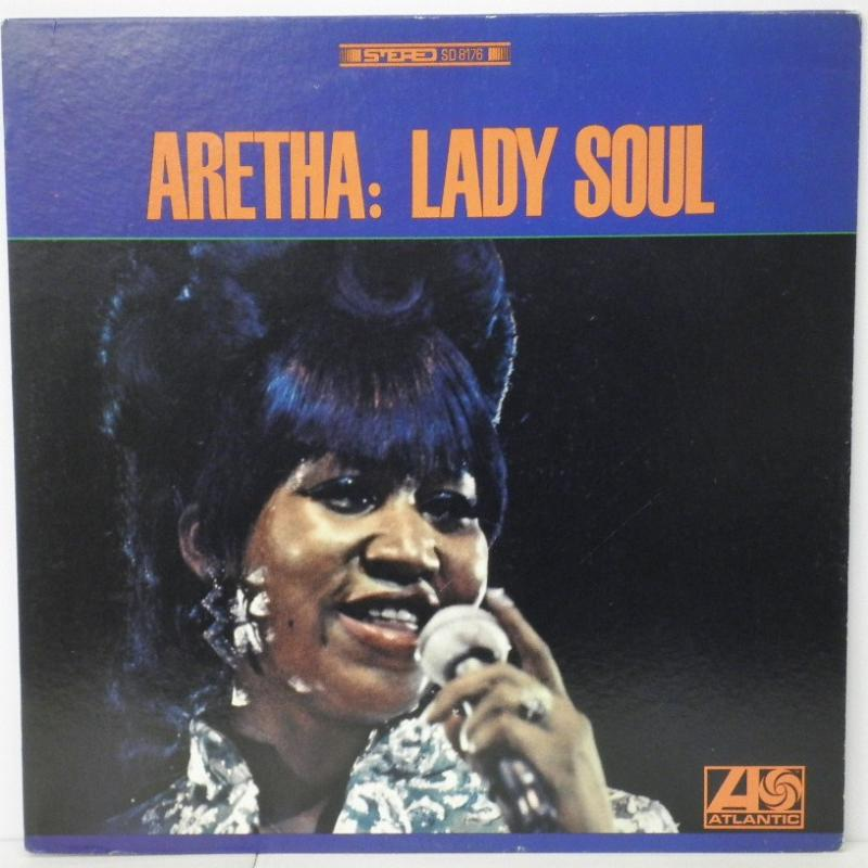 ARETHA FRANKLIN - ARETHA: LADY SOUL - LP