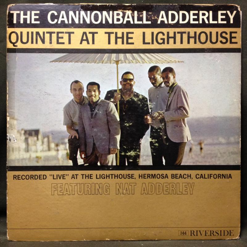 THE CANNONBALL ADDERLEY QUINTET - AT THE LIGHTHOUSE - LP