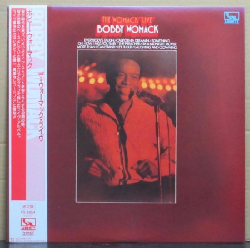 """ボビー・ウーマック/ザ・ウーマック・ライヴのLPレコード通販・販売ならサウンドファインダー"""""""