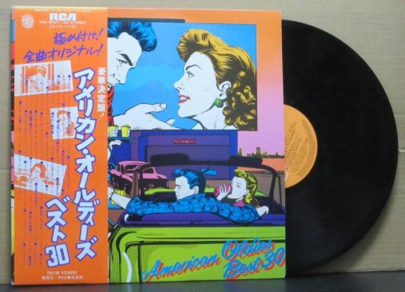 """VA/アメリカン・オールディーズ・ベスト30[2LP]のLPレコード通販・販売ならサウンドファインダー"""""""
