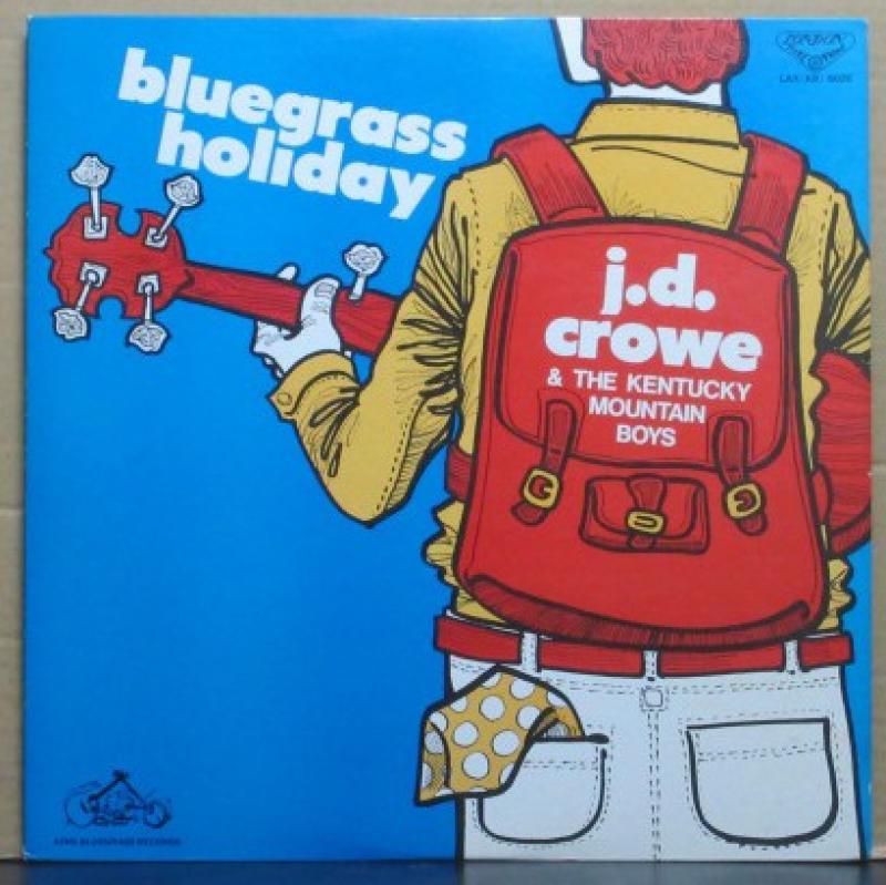 """J・D・クロウ/ブルーグラス・ホリディのLPレコード通販・販売ならサウンドファインダー"""""""
