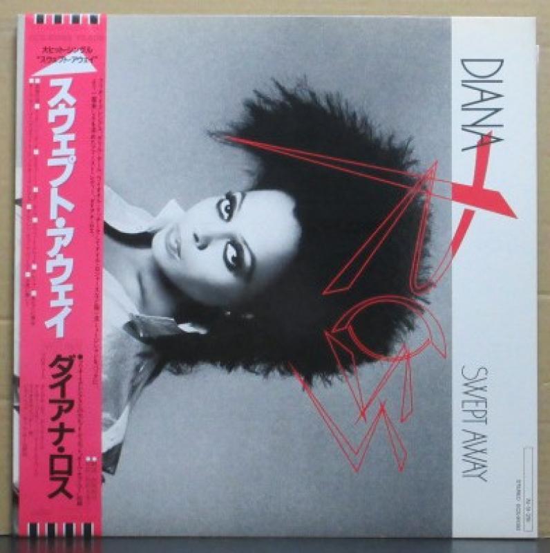 """ダイアナ・ロス/スウェプト・アウェイのLPレコード通販・販売ならサウンドファインダー"""""""